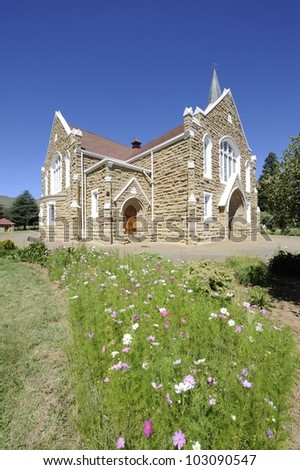 Country Church, Lady Grey, Eastern Cape, South Africa