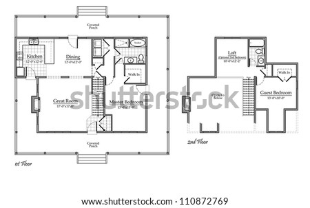 stock photo country house floor plan with room names 110872769 house plan room names house and home design,Home Plan Names