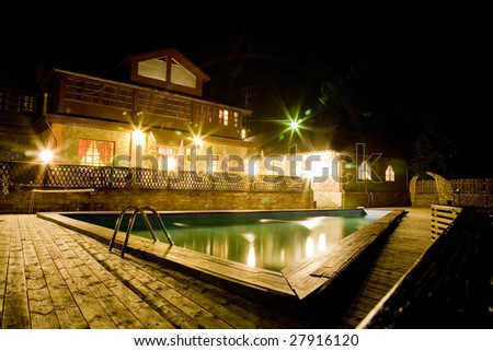 Country house, night