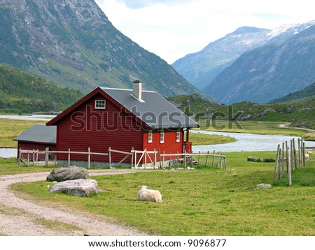 Country house Norway