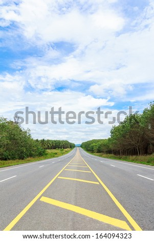 country side road