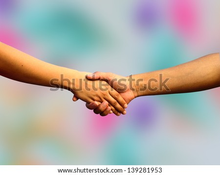 Couple Handshaking, fist your hand, hand sign of help, hands sign of hope, get your hand ready for impack