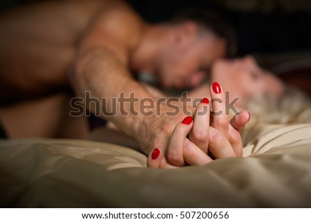 Making Love Holding Hands