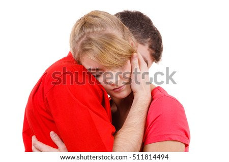 Family Hugging Sad Stock Images, Royalty-Free Images ...