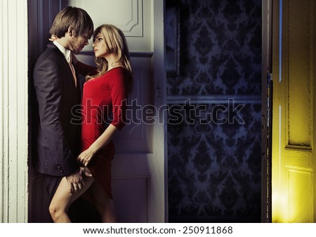 Couple in love - stock photo