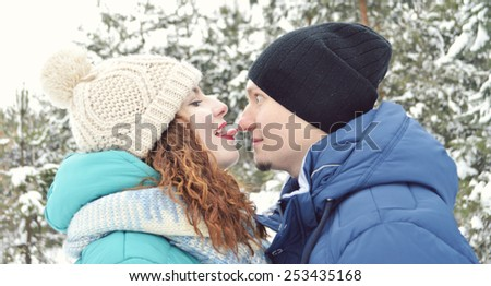 couple in love kissing crusade