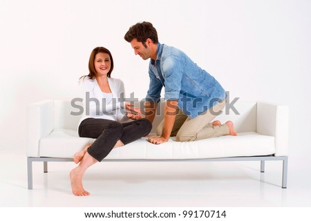 couple on the couch