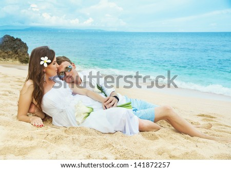 couple on the sand