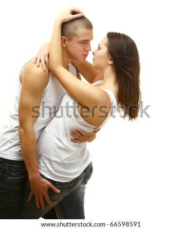 Couple Sexy - stock photo