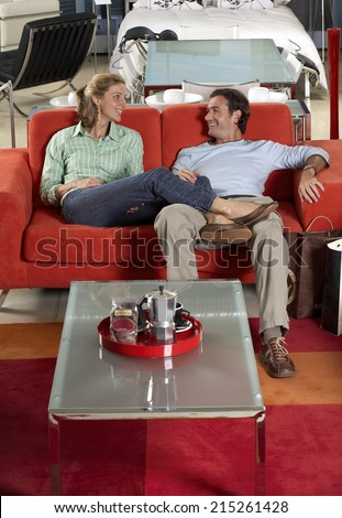 Quot Woman Sitting On Lap Of Husband Quot Stock Images Royalty