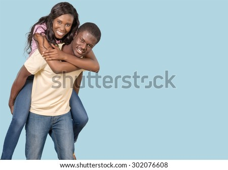 Couple, Young Adult, Teenager. - stock photo