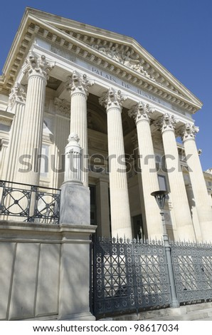 court in Nimes, France