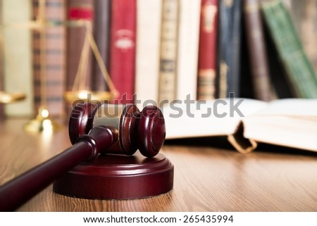 Court, law, lawyer. - stock photo