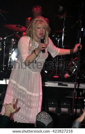 Courtney Love during 'Camp Freddy' Tsunami Relief Benefit Concert held at the Key Club Sunset Strip in West Hollywood, USA on January 27, 2005.