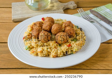 Couscous and Falafels