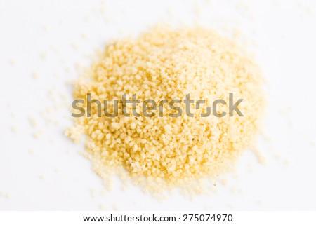 Couscous heap - stock photo