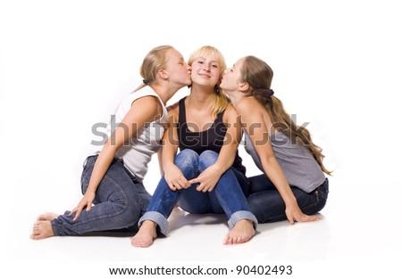 Cousins - stock photo