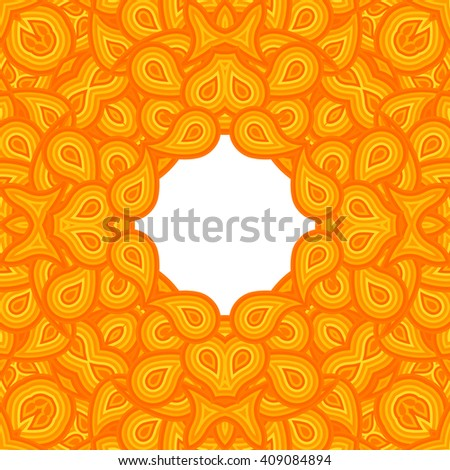 Cover. Pattern from ornamental elements. Can be used for wallpaper, pattern fills, web page background,surface textures.