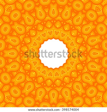 Cover. Pattern from ornamental elements. Indian Pattern Design. Can be used for wallpaper, pattern fills, web page background,surface textures.