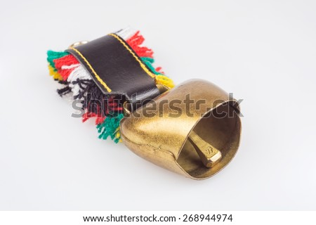 Cow/goat bell - stock photo