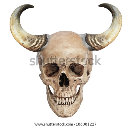 Human Skull With Devil Horns | www.pixshark.com - Images ... Human With Horns