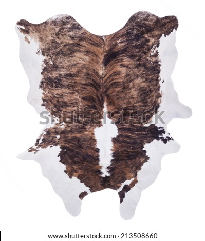 Cow skin - stock photo