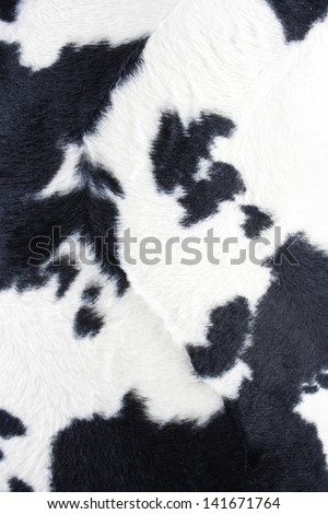cow texture - stock photo