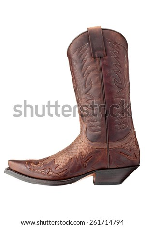 Cowboy Boot - stock photo
