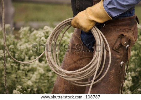 Cowboy Hands with Rope