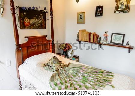 Frida Kahlo Blue House Living Room