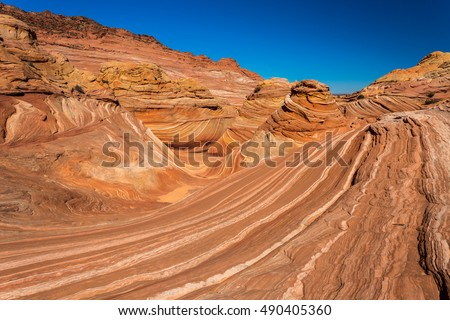 Coyote Buttes in the Vermilion Cliffs Arizona