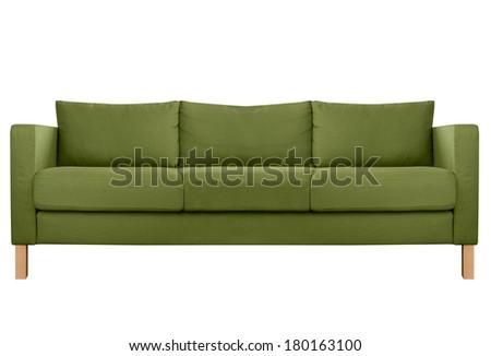 Cozy modern Sofa - stock photo