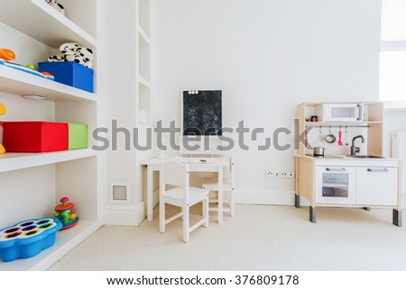 Cozy nook for a child in the house
