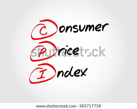 CPI - Consumer Price Index, acronym business concept