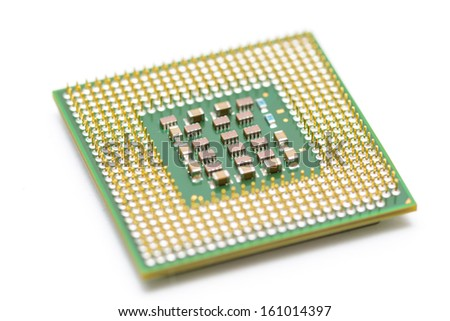 CPU (central processing unit) close up