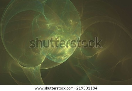 Crab nebula- the abstract illustration - stock photo