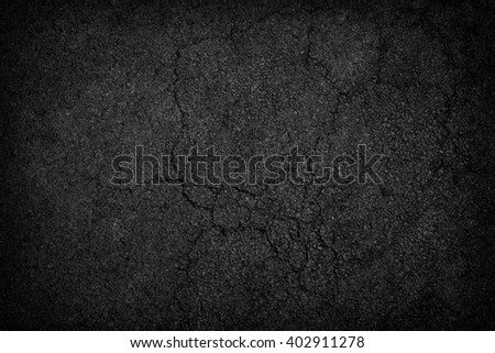 Crack asphalt background - stock photo