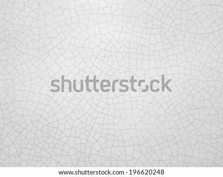 crack ceramic texture surface background - stock photo