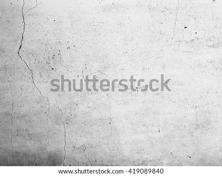 Crack concrete wall, abstract texture background. - stock photo