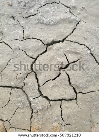 Crack ground texture