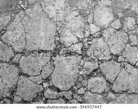 Cracked concrete texture closeup background. Cracked Concrete Stock Images  Royalty Free Images   Vectors