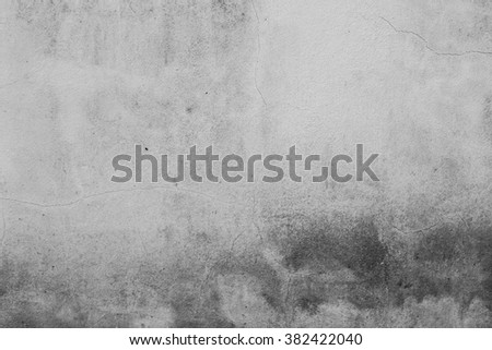 cracked concrete vintage wall background, old wall - stock photo
