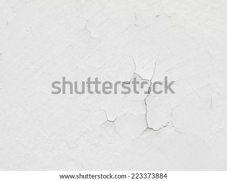 Cracked concrete wall background - stock photo