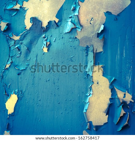 cracked paint background