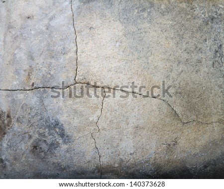 Cracked scorched rock texture - stock photo