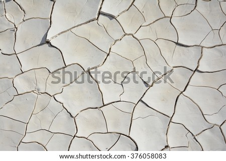 Cracked soil dry earth texture,background.