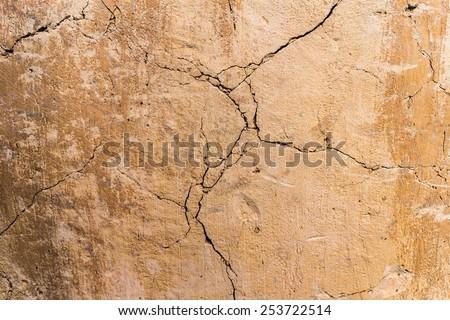 Cracked texture - stock photo