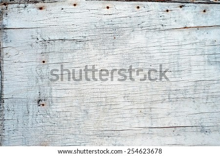 Cracked White Paint Texture For Your Design. - stock photo