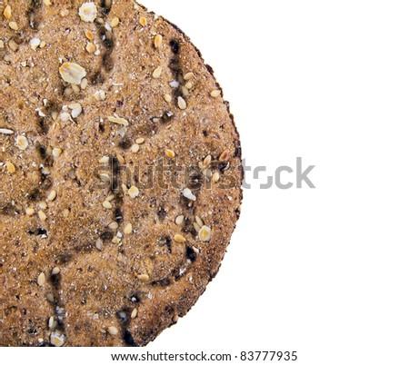 cracker isolated - stock photo