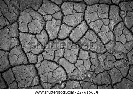 cracks in the ground background